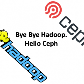 Why do we move from HDFS to Ceph?